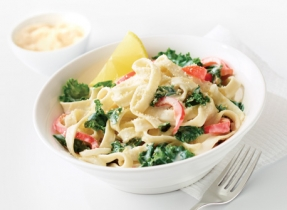Lemony Pasta with Kale