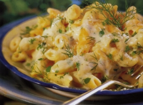 Three Cheese and Herb Penne