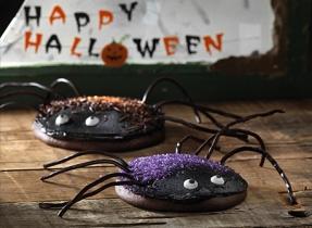 Sparkly Spider Cakes