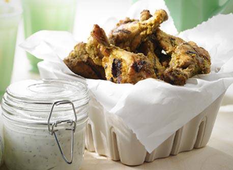 Herb and Spice Marinated BBQ Chicken Drumettes Recipe