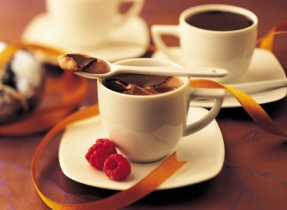 Chocolate Pots made with Carnation Evaporated Milk