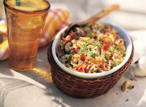 Fresh Market Vegetable Pilaf