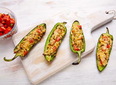 Grilled Mozzarella jalapenos Recipe