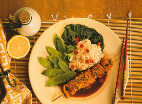 Broiled Teriyaki Buttered Fish Recipe