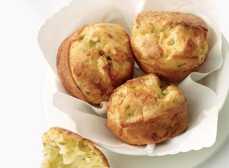 Herb & Swiss Popovers Recipe