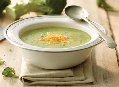 Classic Broccoli Cheddar Soup Recipe