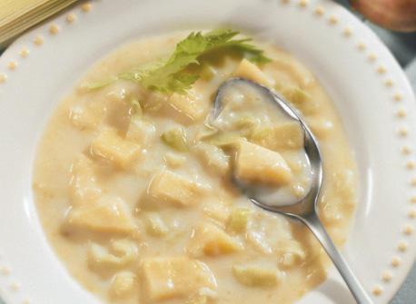 Classic Potato Leek Soup Recipe
