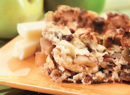 Cinnamon Apple Strata Recipe