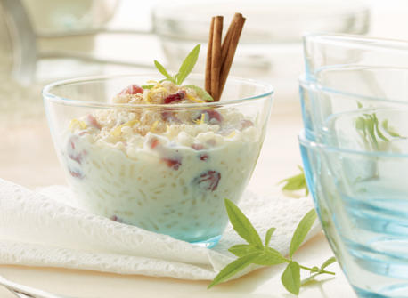 Cranberry Maple Lemon Rice Pudding recipe | Dairy Goodness