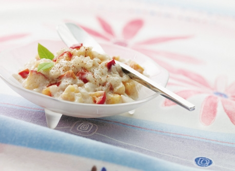 Apple Cinnamon Rice Pudding Recipe