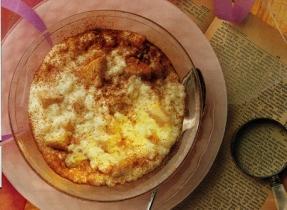 Apple Cinnamon Rice Pudding
