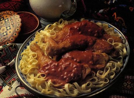 Hungarian Chicken Paprika Recipe