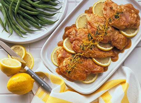Lemon Butter-Glazed Chicken Recipe