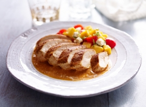 Grilled Chicken with Ricotta Sauce