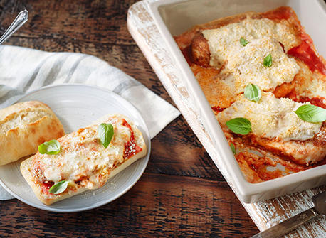 Super Easy Chicken Parm  Recipe