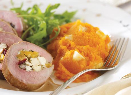 Havarti & Coriander Carrot Purée Recipe