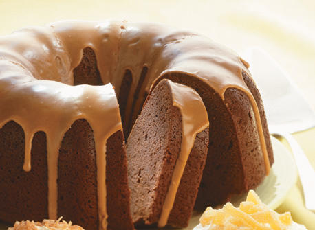 Chocolate Cream Cheese Pound Cake With Mocha Drizzle Recipe Dairy