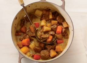 Irish Stew with Havarti