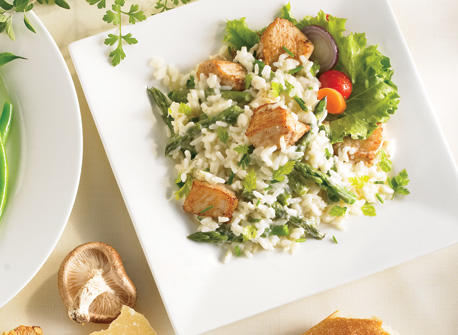 Easy-to-Make Chicken and Asparagus Risotto Recipe