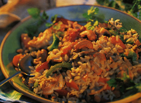 Chicken and Rice Jubilee Recipe