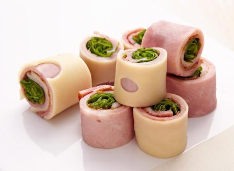 Ham And Swiss Cheese Rolls Recipe Dairy Goodness