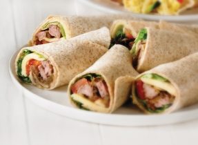 Steak and Monterey Jack wraps