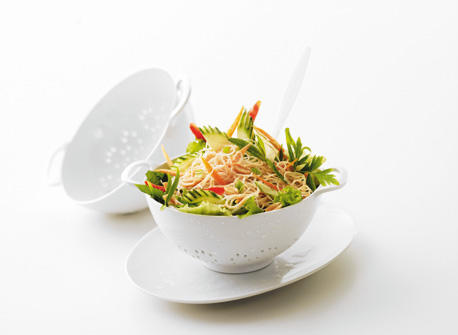 Asian Noodle and Vegetable Salad Recipe