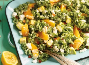 Citrus Kale & Avocado Salad