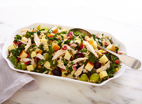 Cheddar orzo salad Recipe