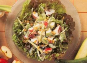 Celery, Zucchini & Apple Salad