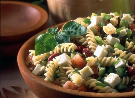 Mediterranean Fusilli Salad Recipe