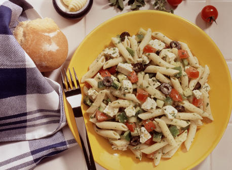Greek Pasta Salad Recipe Dairy Goodness