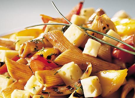 Havarti and Grilled Vegetable Pasta Salad Recipe