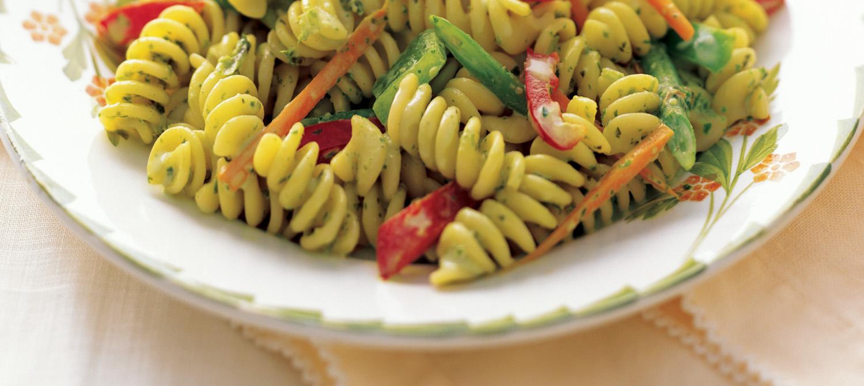 Pasta Salad with Creamy Herb Dressing recipe | Dairy Goodness