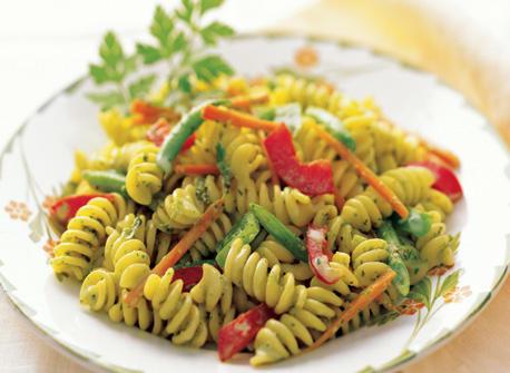 Pasta Salad with Creamy Herb Dressing Recipe