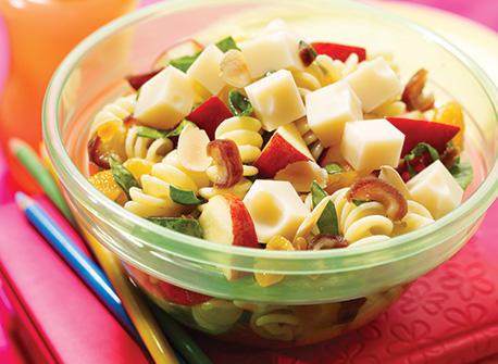 Fruity Pasta Swiss Salad Recipe