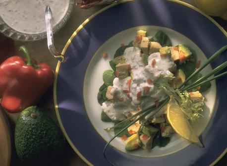 Avocado and Chicken Salad Recipe