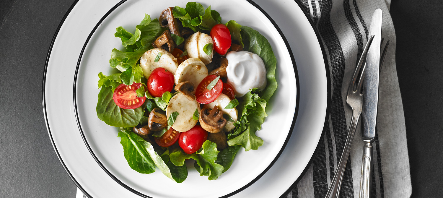 Try to cook a marinated champignon salad 62