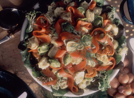 Tortellini and Smoked Salmon Salad with Dill Recipe