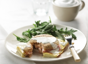 Eggs Benedict Brunch Bake