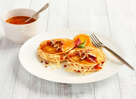 Cheddar and Jam Pancake Sandwich recipe | All You Need is Cheese