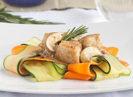 Pork & Mushroom Sauté Recipe