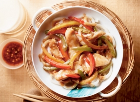 Honey-Garlic Chicken & Sweet Pepper Stir-Fry