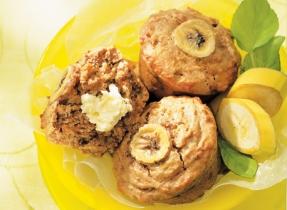 Yummy Peanut Butter Banana Muffins