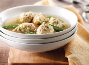 Chicken & Ricotta Dumpling Soup