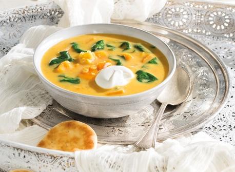 Sweet Potato & Lentil Soup Recipe