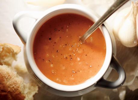 Creamy Tomato Rice Soup Recipe