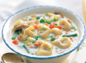 Quick and Easy Tortellini Vegetable Soup