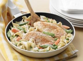 Chicken & Noodle Skillet Supper