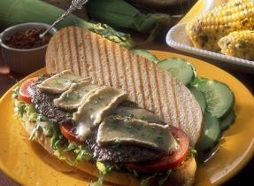 Steak Submarine with Camembert Cheese